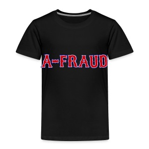 A-Fraud Sox Style Toddler T-Shirt - Toddler Premium T-Shirt