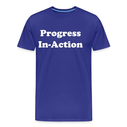 A,merican Legal System Progress In-Action - Men's Premium T-Shirt