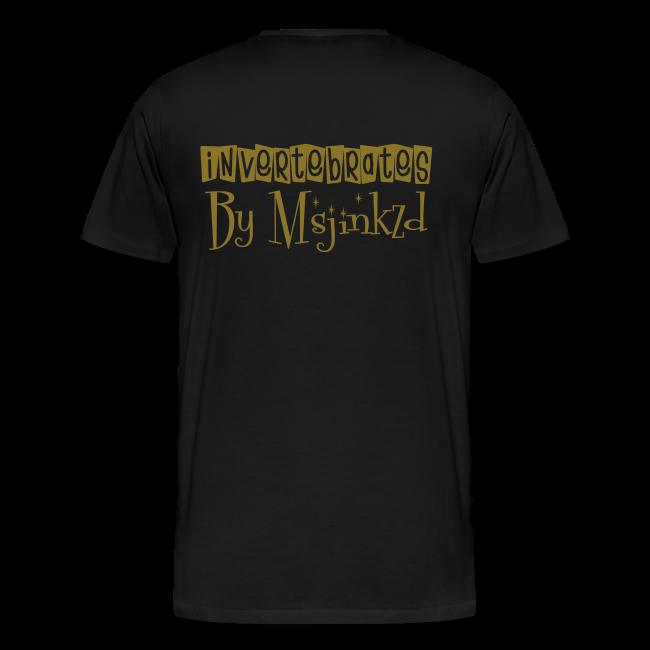 Msjinkzd: Men's Flex Printed T
