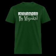 T-Shirts ~ Men's T-Shirt ~ Msjinkzd Men's Flock Print T