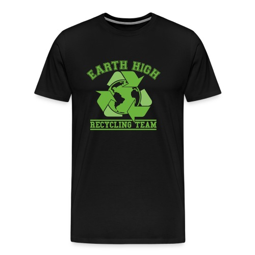 Earth High Black - Men's Premium T-Shirt