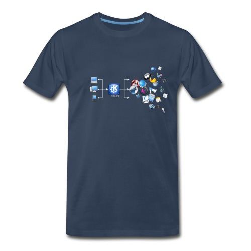 KDE Magic - Men's Premium T-Shirt