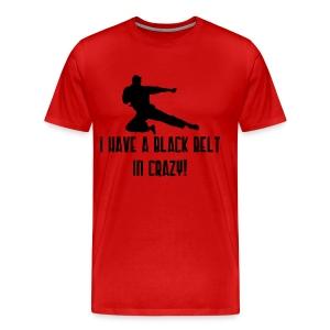 Black Belt T-Shirt - Men's Premium T-Shirt