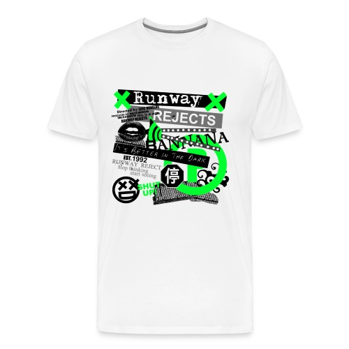 Runway Rejects - Tee (Green) - Men's Premium T-Shirt