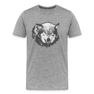 T-Shirts ~ Men's Premium T-Shirt ~ Wolf