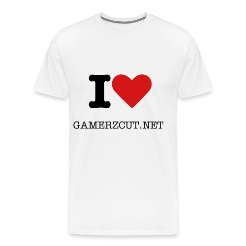 i LOVE Gcut - Men's Premium T-Shirt