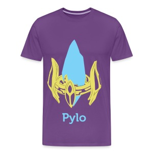 Pylo the Pylon (with back) - Men's Premium T-Shirt