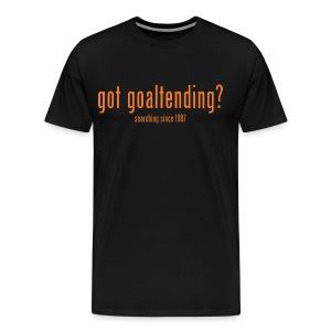 got goaltending? - Men's Premium T-Shirt