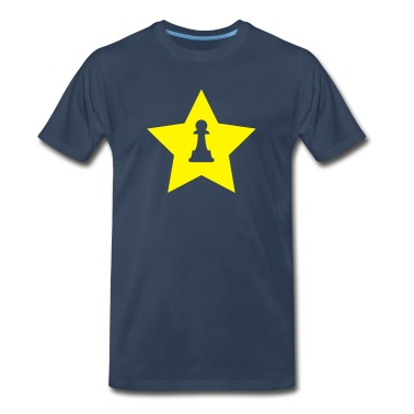 Navy Pawn Star T-Shirts