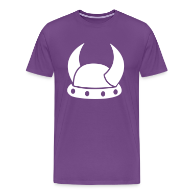 VIKING HORNS HELMET medieval helmets T-Shirts