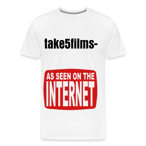 As seen on internet T-Shirt - Men's Premium T-Shirt