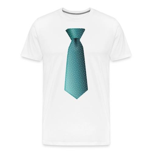 Necktie - Men's Premium T-Shirt