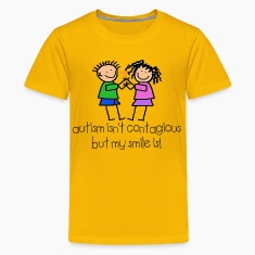 Yellow contagious Kids' Shirts
