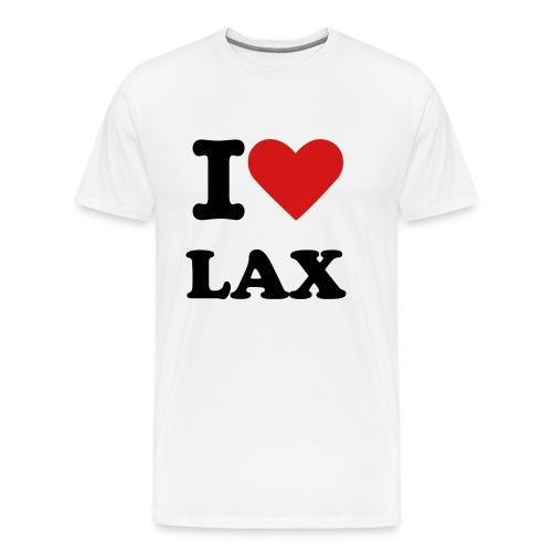 I Love LAX - Men's Premium T-Shirt