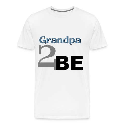 Grandpa 2 Be - Men's Premium T-Shirt