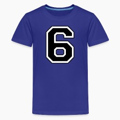 Royal blue 6 Kids' Shirts
