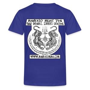 Mankato MMA Sak Yant Tiger Yant / Tiger Soul Muay Thai - Kids' Premium T-Shirt