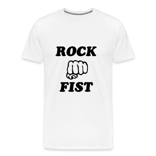 Rock Fist - Men's Premium T-Shirt