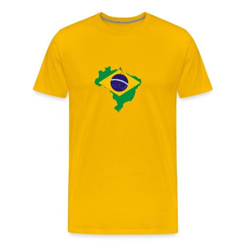 Brazil for world cup 2010 - Men's Premium T-Shirt
