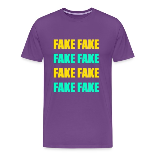 Fake - Tee - Men's Premium T-Shirt