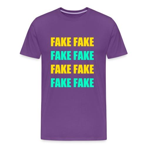 Fake - Tee - Men's Premium T-Shirt