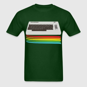 Forest green keyboard (commodore vic 20) T-Shirts - Men's T-Shirt