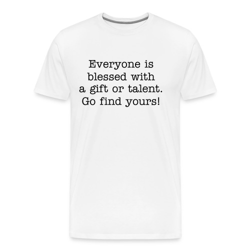 Gifts or talents - Men's Premium T-Shirt
