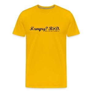 Hungry? - Black Text - Men's Premium T-Shirt