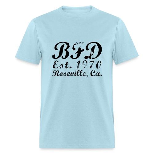 BFD - Black Text - Men's T-Shirt