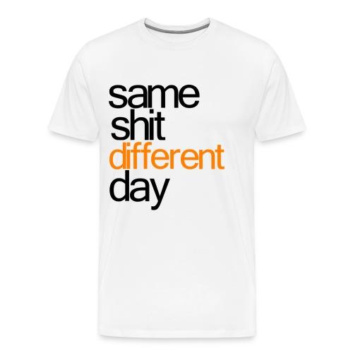 same shit - tee - Men's Premium T-Shirt