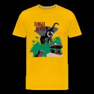 T-Shirts ~ Men's Premium T-Shirt ~ Jungle River- Vintage Disneyland Poster Style