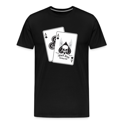 Black Aces Hockey Club - Cards - Men's Premium T-Shirt