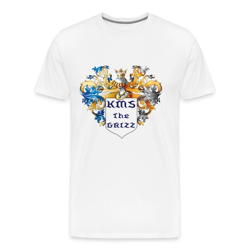 KMS Coat of Arms - Men's Premium T-Shirt