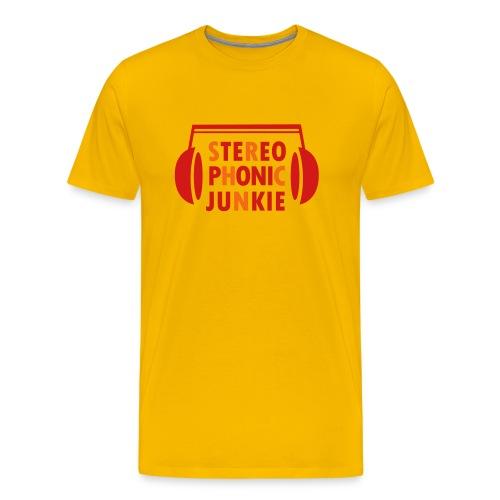 Stereo Phonic Junkie T-Shirt for Men - Men's Premium T-Shirt