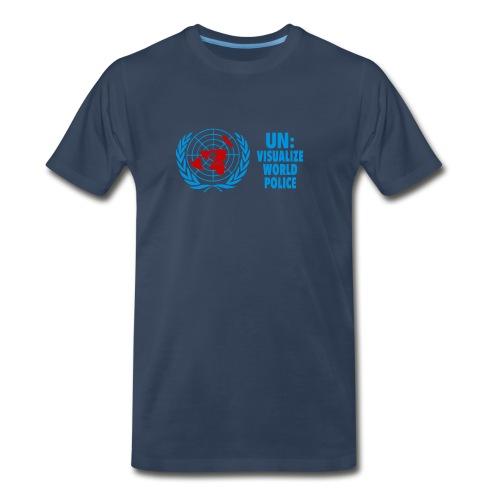 UN: World Police? - Men's Premium T-Shirt