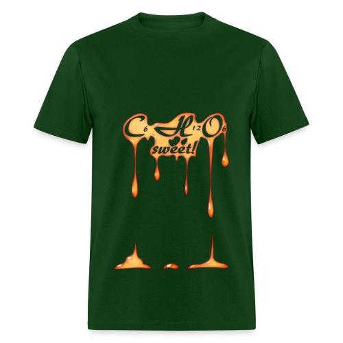 C6H12O6 Sweet! - Men's T-Shirt