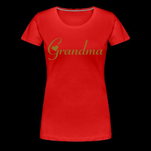 Grandma - Women's Premium T-Shirt
