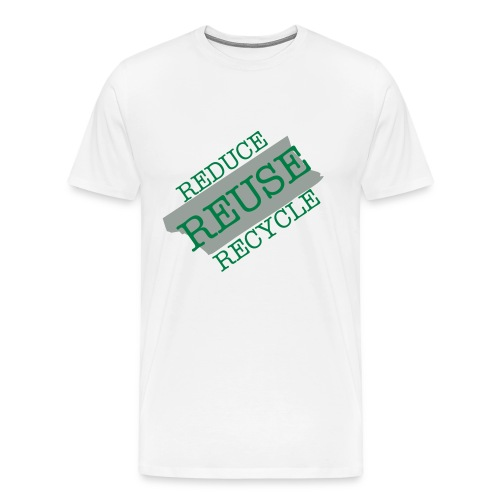 RECYCLE WITH DUCT TAPE - Men's Premium T-Shirt