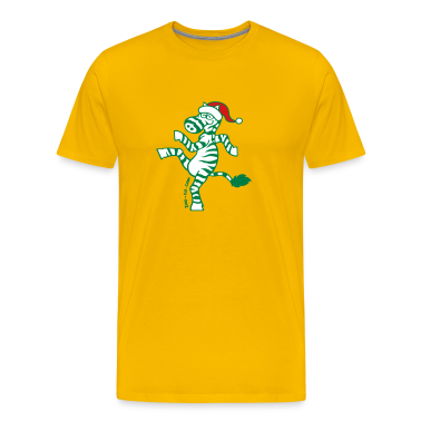 Christmas Zebra T-Shirts