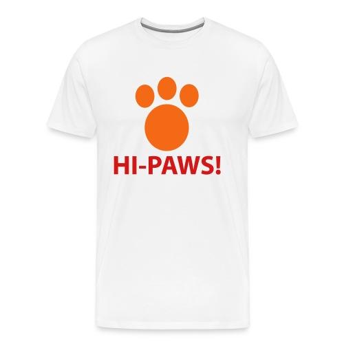 Give Me a Hi-Paws!  T-Shirt for Men - Men's Premium T-Shirt