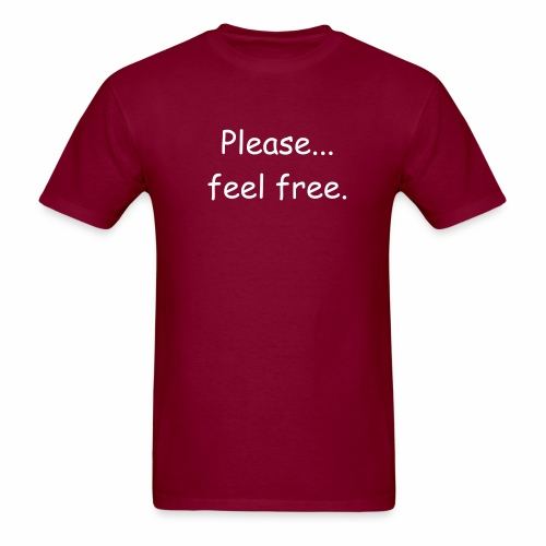 Feel free - Men's T-Shirt