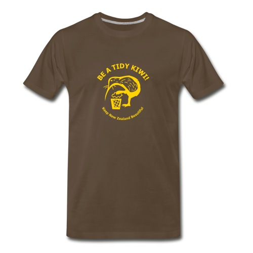 Be a Tidy Kiwi - Men's Premium T-Shirt