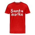 Santa sucks Christmas t-shirt
