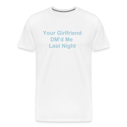 Twitter Talk - Men's Premium T-Shirt