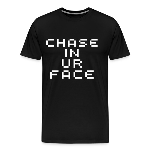 Chaseinurface Large Pixellated - Men's Premium T-Shirt