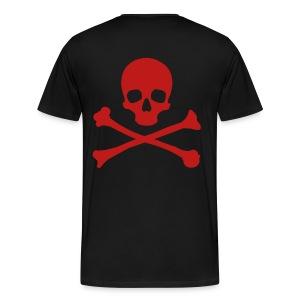P3LIGRO CROSSBONES - Men's Premium T-Shirt
