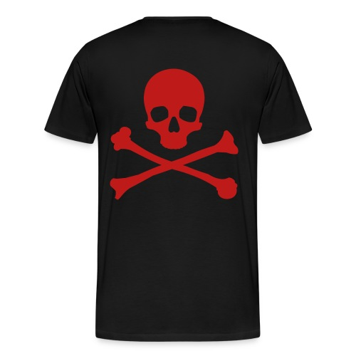 P3LIGRO CROSSBONES - Men's Premium T-Shirt