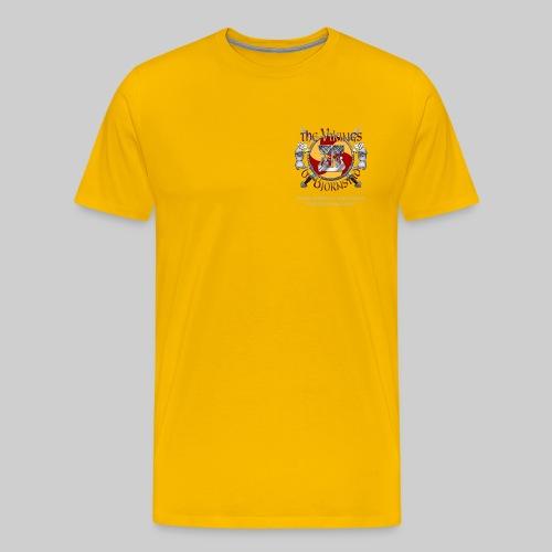 Vikings of Bjornstad Men's Heavyweight T-Shirt - Men's Premium T-Shirt