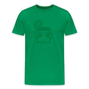 Shades Tee  - Green  for Men - Men's Premium T-Shirt
