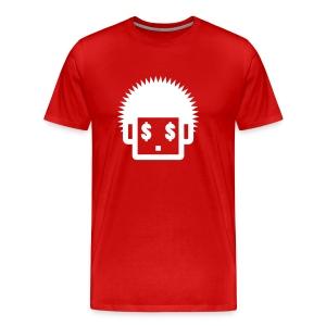 Afro Tee  - White  for Men - Men's Premium T-Shirt